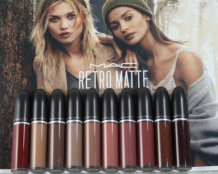 M·A·C Retro Matte Liquid Lipcolour Collection