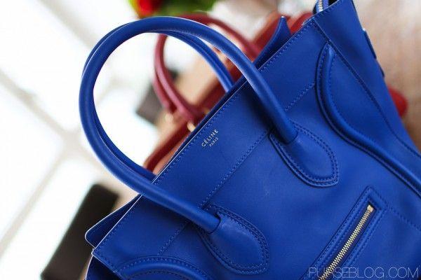 Beautiful Cobalt (Celine Luggage bag)