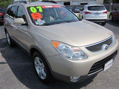 2007 Hyundai Veracruz - $11,988  Hendrick Hyundai Charleston, 843.572.6147