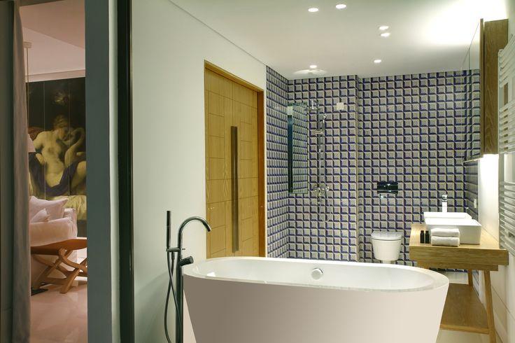 Evolutee Hotel Royal Obidos - badkamer www.golfandcountrytravel.nl