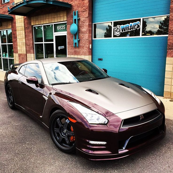 Powerful wrap On A Gtr In 3m 1080 Matte Gray Aluminum
