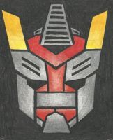 Autobot insignia - Omega Prime (TF RID) by LadyIronhide