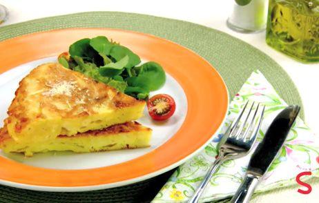 Tortilha de Batata: Prato Simple, Pratos Simples