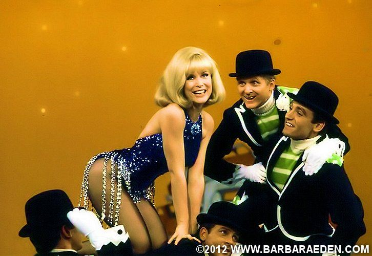 Barbara performing 'Hey Big Spender' on The Smothers ... Barbara Eden Today