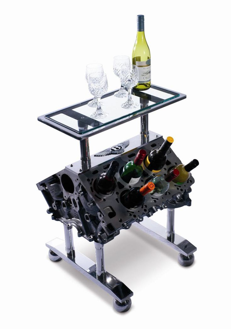 Car Engine Wine Counter for the Mechanic