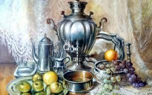 Samowar z owocami - Igor Janczuk