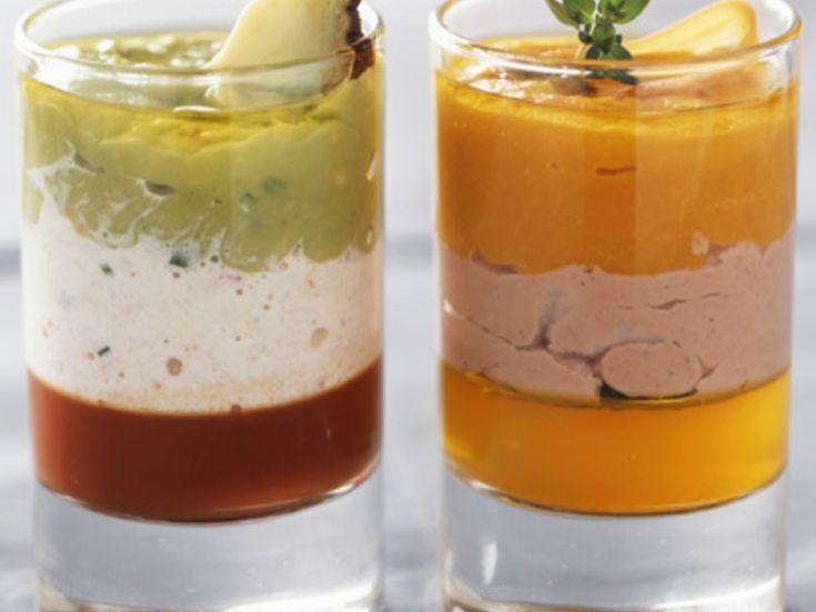 Découvrez la recette Douceur salée à l'avocat et au crabe sur cuisineactuelle.fr.