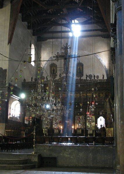 Natural Light at Church of the Nativity, Bethlehem, Israel