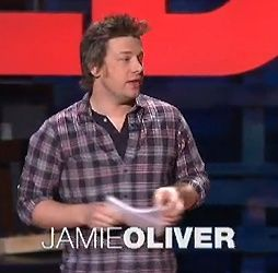 TED Prize winner Jamie Oliver makes the case for an all-out assault on our ignorance of food. Jamie is transforming the way we feed ourselves, and our children. He was drawn to the kitchen since he was a child working in his fathers pub-restaurant. Now, Oliver is using his fame and charm to bring attention to the changes that Brits and Americans need to make in their lifestyles and diet.