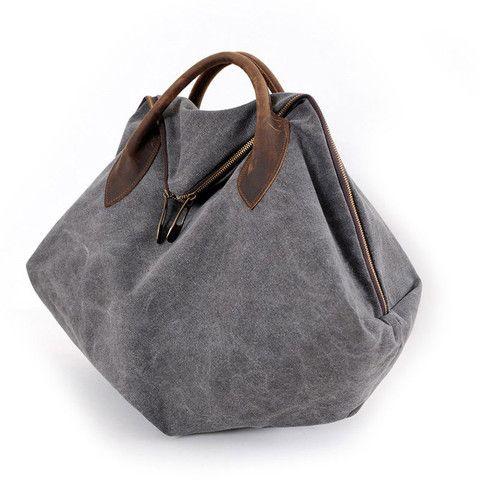 MIDOU Erica Slate Canvas Bag