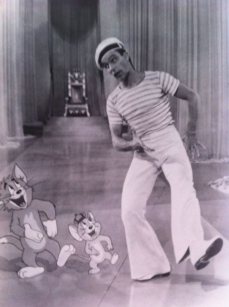 Gene Kelly was the first to do many things-including dance with a cartoon character!