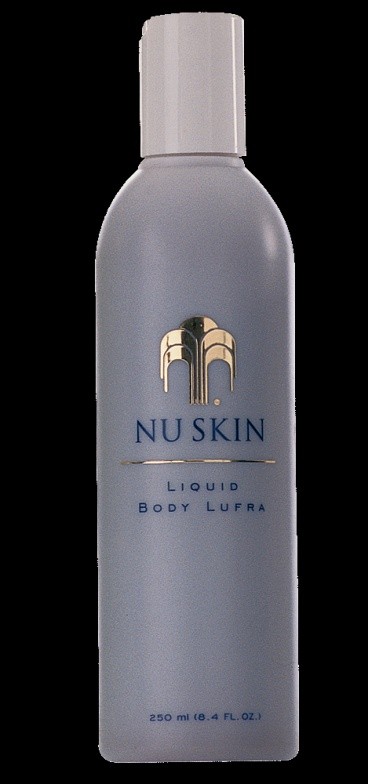 Liquid Body Lufra  http://www.nuskin.com/global/library/pdf/products/liquid_body_lufra_product_profile.pdf  http://www.nuskin.com  Click on your Country  Ordering ID:NZ0295987  Online Catalogue   http://www.nuskin.com/global/library/pdf/catalog/NZ/2010/index.htm