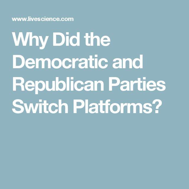 Democrat And Republican Essay
