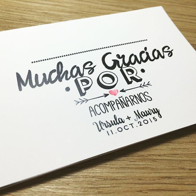 8 best Tarjetas Agradecimiento images on Pinterest | Bodas, Eventos ...