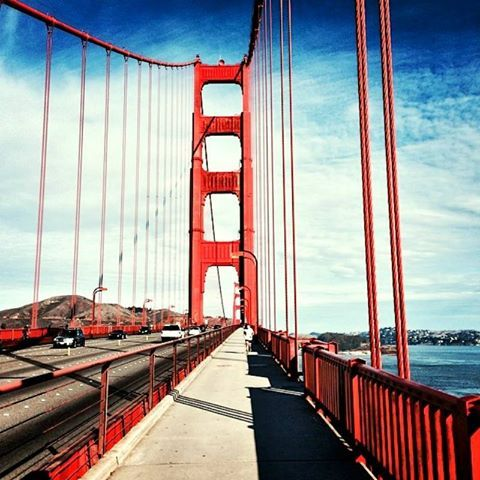 Add some adventure to your #weekend with a 3.2-mile walk across the San Francisco Bay!
