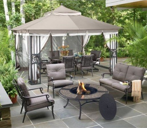 Ouside Patio Oasis | Sears Offering Big Discounts On Outdoor Living |  Online Shopping Blog | Ideas For The House | Pinterest | Oasis, Patios And  Outdoor ...