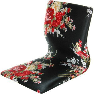 Oriental Furniture Japanese Style Game Chair, Tatami Meditation Backrest Chair, Black and Red Hibiscus by ORIENTAL FURNITURE. $144.26. Classic japanese design tatami chair. Sturdy durable and comfortable design. Elegant black and hibiscus fabric pattern. Ideal for comfortable floor level seating, great for gamers. Hand crafted japanese style tatami chair, traditionally used on tatami mat floors for meditation or study. portable and comfortable, tatami chairs h...