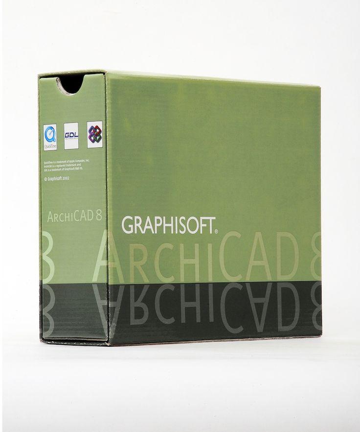 2002 - Archicad 8.0:  OpenGL, Operaciones con los elementos sólidos, Navigator, Layout libro, editables Biblioteca Hotspots