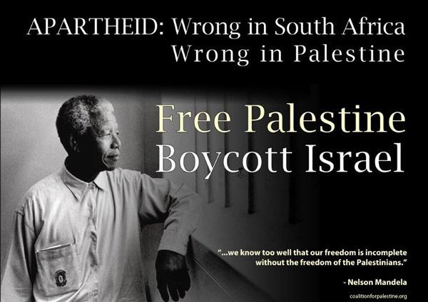 Nelson Mandela Free Palestine #Israel