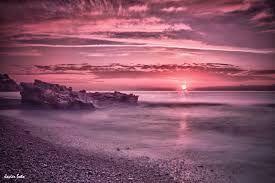 Resultado de imagen de amanecer violeta