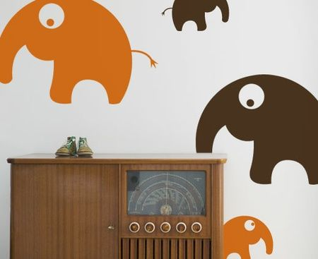 Wall stickers for boy's room