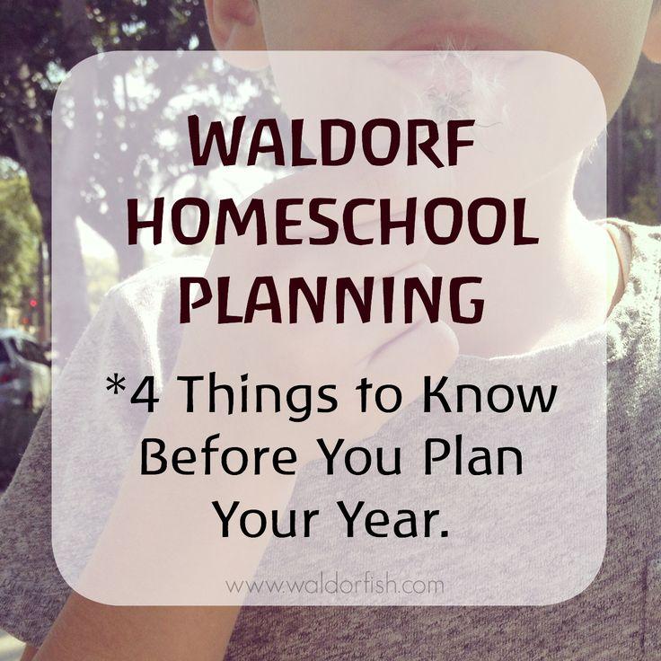 Waldorf Education | curriculum | Waldorf pedagogy | Waldorf homeschool planning | how to plan a Waldorf curriculum | waldorfish | curriculum planning |