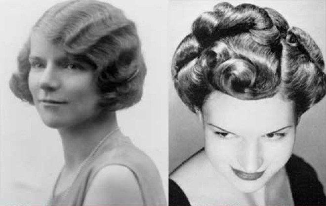 Hairstyle Anni Trenta