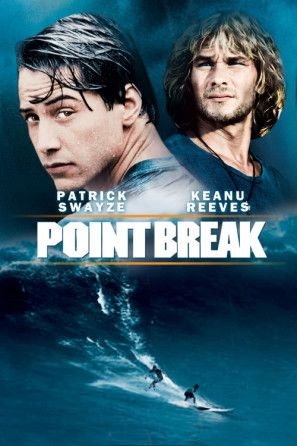 Point Break (1991) movie #poster, #tshirt, #mousepad, #movieposters2