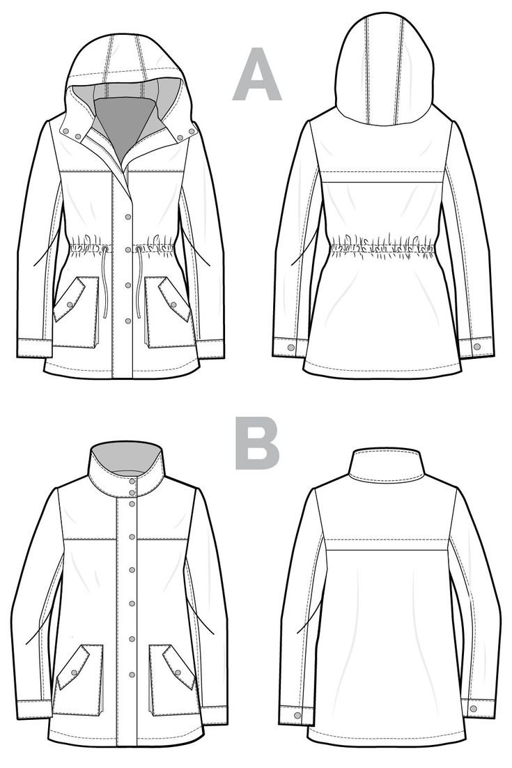 Kelly Anorak // Jacket sewing pattern // Closet Case Patterns