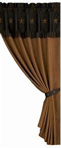 Rustic Cabin & Western Curtain Valances -PaulsHomeFashions