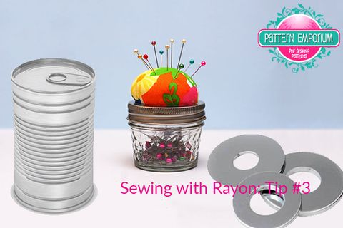Read this for tips on sewing with rayon.