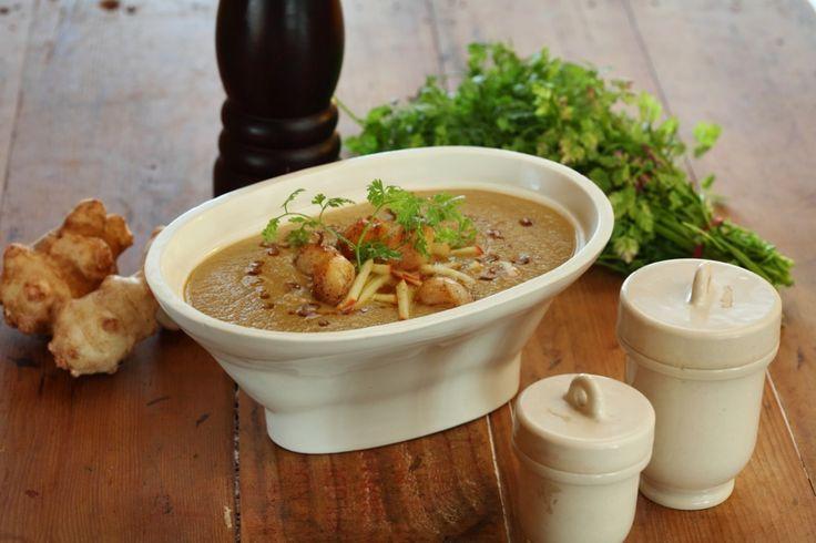 Jerusalem Artichoke Soup - Maggie Beer