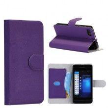 Forro BlackBerry Z10 Tipo Libro - Violeta  Bs.F. 109,25