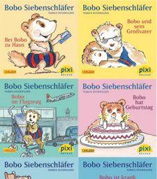 Pixi Bücher: Serie.214 Pixi-Buch 1937-1944 Bobo Siebenschläfer, 8 Hefte Buch kaufen | Jokers.de