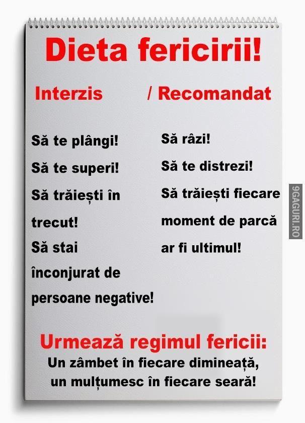 Dieta fericirii!   Link Postare ➡ http://9gaguri.ro/media/dieta-fericirii