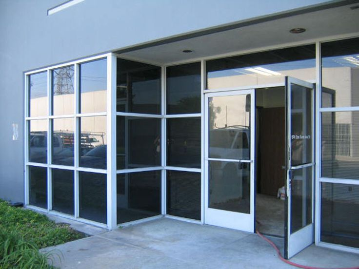 8 best commercial glass doors images on pinterest for Commercial glass doors