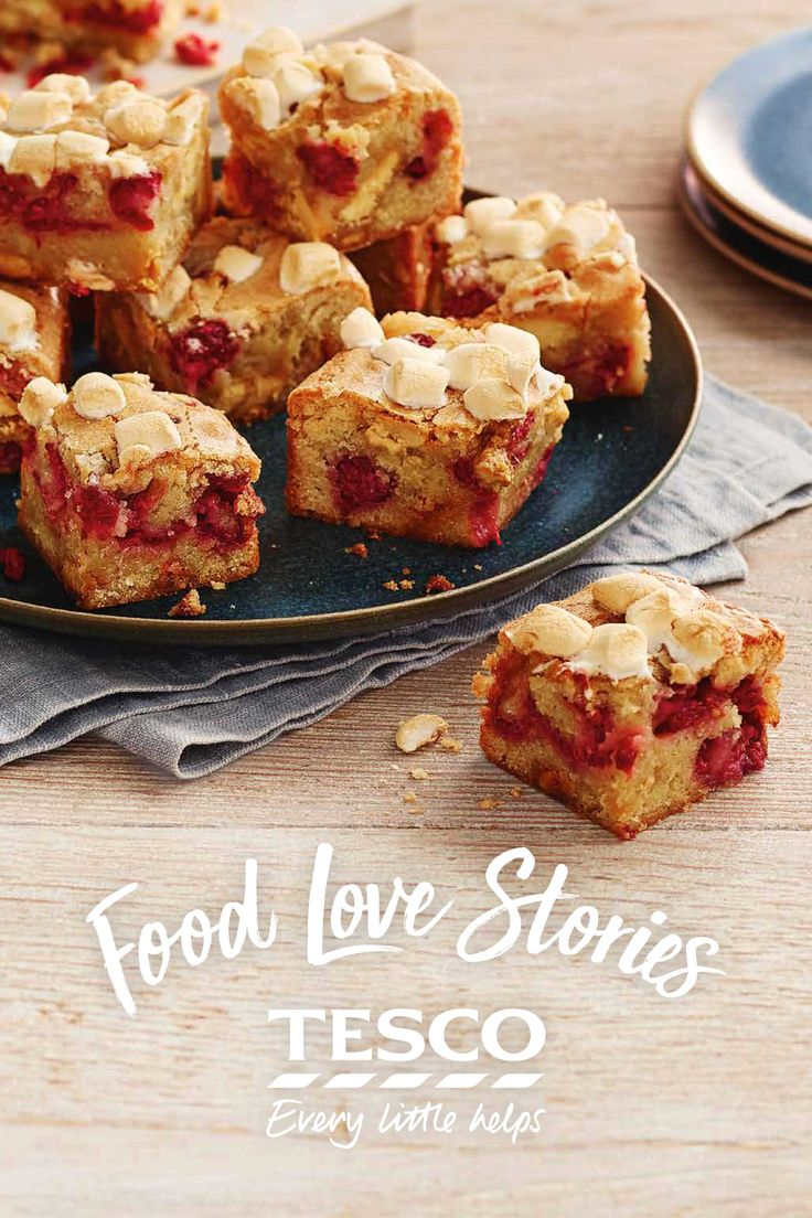 Joan from our Food Love Story used to always bake blondies for her daughter, Sarah, when she was a child. Now that she is at uni, Joan misses her like mad and always posts her a batch as a delicious reminder of home.   Tesco