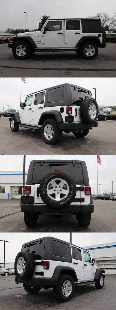 SUVs: 2014 Jeep Wrangler 4Wd 4Dr Sport 4Wd 4Dr Sport Suv Manual Gasoline 3.6L V6 Cyl White -> BUY IT NOW ONLY: $27900.0 on eBay!