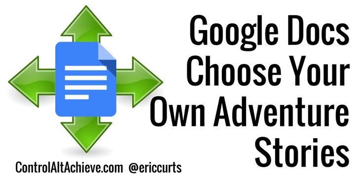 Love this activity for using Google Docs to create your own adventure stories! This post has a complete step-by-step lesson.