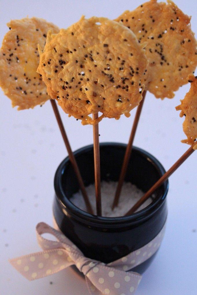 Sucettes salées parmesan pavot - Fashion cooking