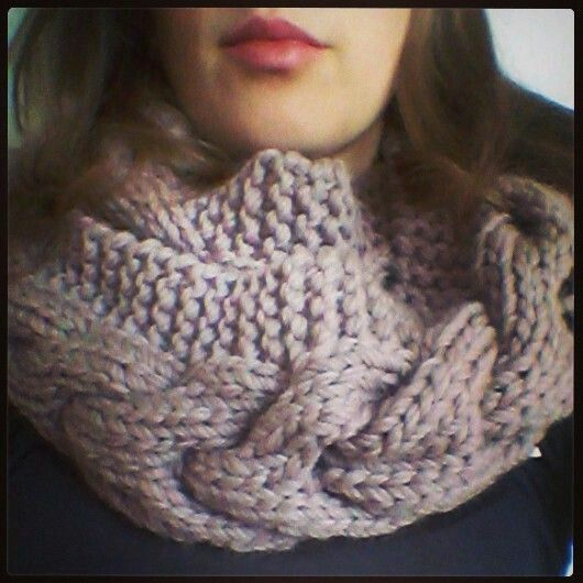 Cable double wrap cowl - http://ravel.me/KayleyKom/wwc