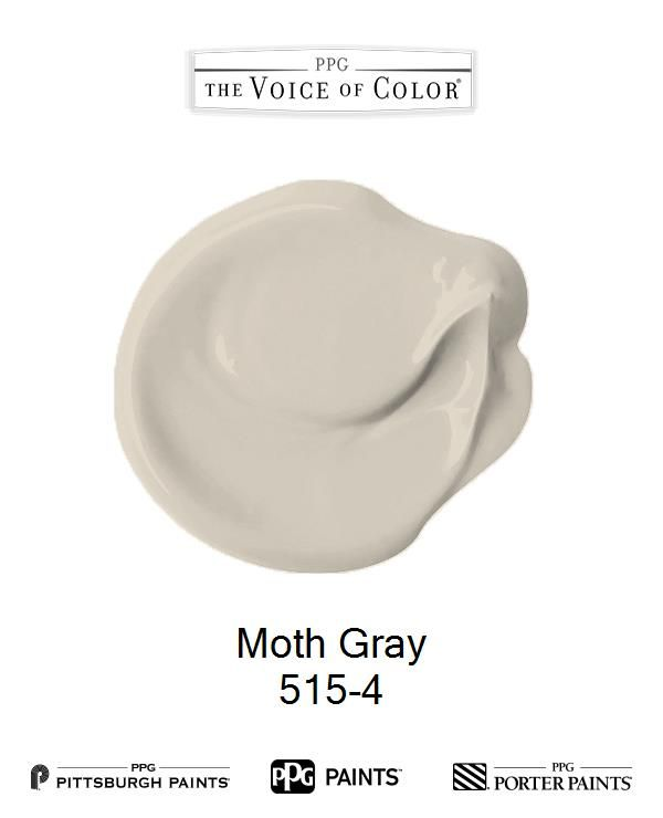 Moth Gray is a part of the collection by PPG Voice of Color®. Browse this paint color and more collections for more paint color inspiration. Get this paint color tinted in PPG PITTSBURGH PAINTS®, PPG PORTER PAINTS® & or PPG PAINTS™ products.