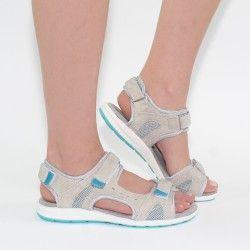 Sandali da trekking con suola colorata
