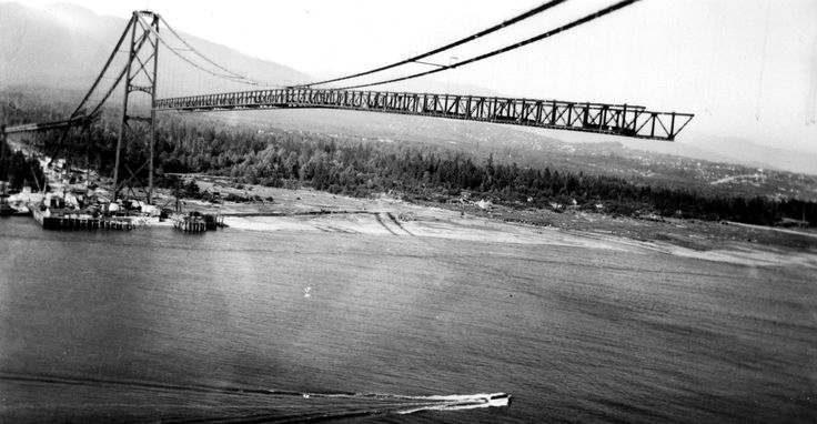 Lions Gate Bridge ca. 1938