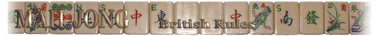 British Rules - Mahjong