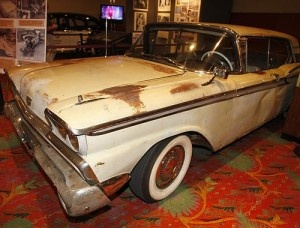 Charles Manson's Ford Farlaine, loaned to Tex Watson to drive killers to and from crime scenes