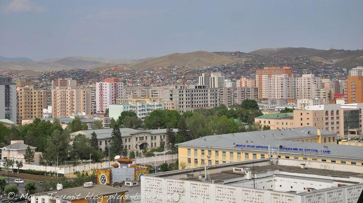 Oulan Bator, capitale de la Mongolie, aux charmes discrets.