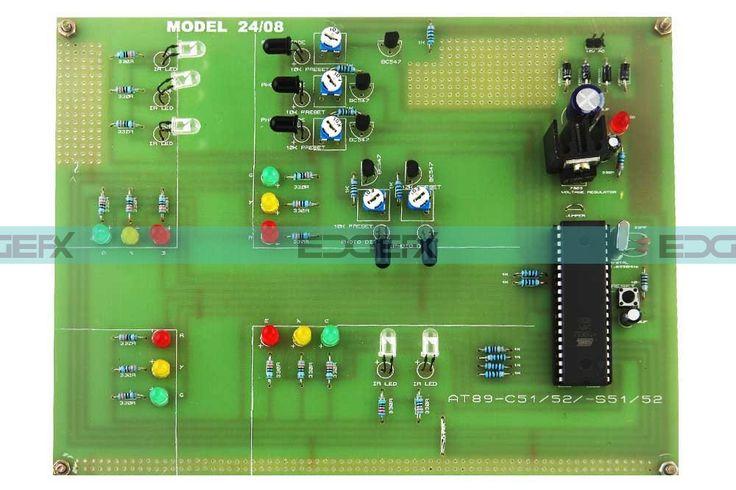 Density Based Traffic Signal Embedded Systems #EEE #ECE