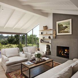 contemporary living room by Allen Associates