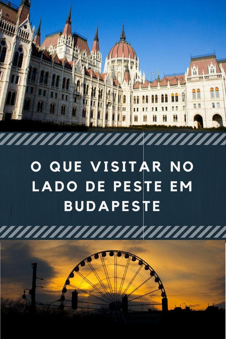Budapeste é dividida pelo rio Danúbio em Buda (lado do castelo) e Peste (lado Parlamento). Neste post mostro o que fizemos do lado Peste em Budapeste.